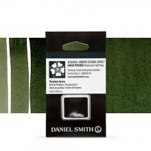 Daniel Smith : Watercolour Paint : Half Pan : Perylene Green : Series 2