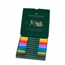 Faber Castell : Albrecht Durer : Watercolor Marker : Wallet Set of 10