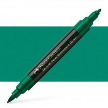 Faber Castell : Albrecht Durer : Watercolor Marker : Dark Phthalo Green