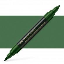 Faber Castell : Albrecht Durer : Watercolor Marker : Permanent Green Olive