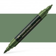 Faber Castell : Albrecht Durer : Watercolor Marker : Earth Green