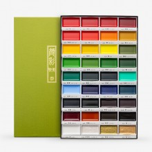 Kuretake : Gansai Tambi Japanese Watercolor : 36 Color Large Pan Set
