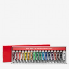 Holbein : Artists' : Watercolur Paint : 5ml : Set of 18 (W403)