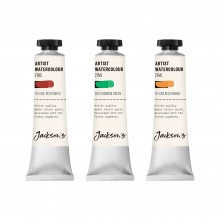 Jackson's : Artist Watercolor Paint : Cadmium Set 2 : 21ml : Set of 3