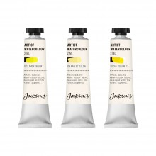 Jackson's : Artist Watercolor Paint : Yellow Set 1 : 21ml : Set of 3