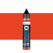 Molotow : Grafx Aqua Ink Refill : 30ml : Vermillion #005