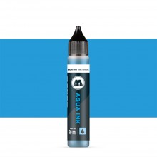 Molotow : Grafx Aqua Ink Refill : 30ml : Cyan #012