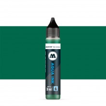 Molotow : Grafx Aqua Ink Refill : 30ml : Dark Green #015