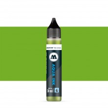 Molotow : Grafx Aqua Ink Refill : 30ml : Yellow Green #016