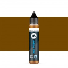Molotow : Grafx Aqua Ink Refill : 30ml : Brown #019