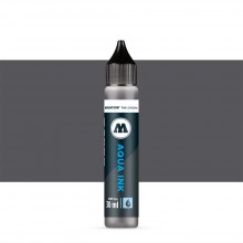 Molotow : Grafx Aqua Ink Refill : 30ml : Neutral Grey 01 #024