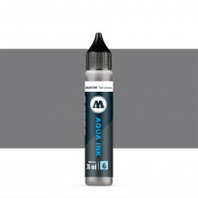 Molotow : Grafx Aqua Ink Refill : 30ml : Neutral Grey 02 #025