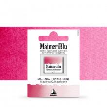 MaimeriBlu : Watercolor Paint : Half Pan : Magenta Quinacridone