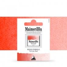 MaimeriBlu : Watercolor Paint : Half Pan : Pyrrole Red