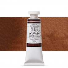 M. Graham : Artists' Watercolor Paint : 15ml : Burnt Umber