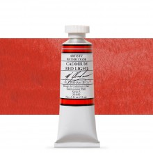M. Graham : Artists' Watercolor Paint : 15ml : Cadmium Red Light
