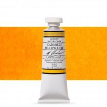 M. Graham : Artists' Watercolor Paint : 15ml : Cadmium Yellow Deep