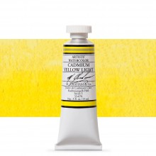 M. Graham : Artists' Watercolor Paint : 15ml : Cadmium Yellow Light