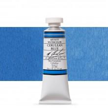 M. Graham : Artists' Watercolor Paint : 15ml : Cerulean Blue