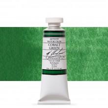 M. Graham : Artists' Watercolor Paint : 15ml : Cobalt Green