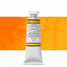 M. Graham : Artists' Watercolor Paint : 15ml : Gamboge