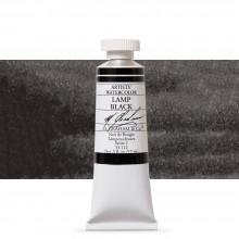 M. Graham : Artists' Watercolor Paint : 15ml : Lamp Black
