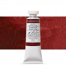 M. Graham : Artists' Watercolor Paint : 15ml : Maroon Perylene