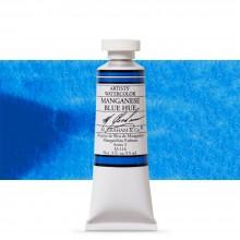 M. Graham : Artists' Watercolor Paint : 15ml : Manganese Blue Hue