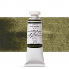M. Graham : Artists' Watercolor Paint : 15ml : Olive Green