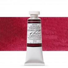 M. Graham : Artists' Watercolor Paint : 15ml : Permanent Alizarin Crimson