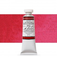 M. Graham : Artists' Watercolor Paint : 15ml : Quinacridone Red