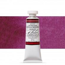 M. Graham : Artists' Watercolor Paint : 15ml : Quinacridone Violet