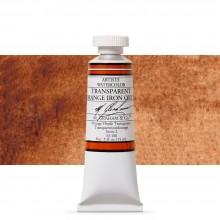 M. Graham : Artists' Watercolor Paint : 15ml : Transparent Orange Iron Oxide