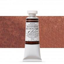 M. Graham : Artists' Watercolour Paint : 15ml : Transparent Red Iron Oxide