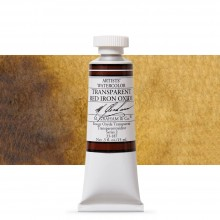 M. Graham : Artists' Watercolor Paint : 15ml : Transparent Yellow Iron Oxide