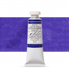 M. Graham : Artists' Watercolor Paint : 15ml : Ultramarine Violet