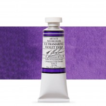 M. Graham : Artists' Watercolor Paint : 15ml : Ultramarine Violet Deep