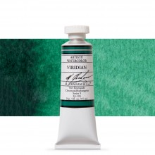 M. Graham : Artists' Watercolor Paint : 15ml : Viridian