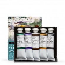 M. Graham : Artists' Watercolor Paint : 15ml : The South Set of 5