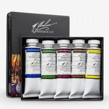M. Graham : Artists' Watercolour Paint : 15ml : Watercolour (Basic) Set of 5