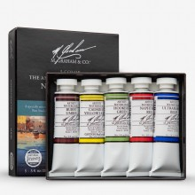 M. Graham : Artists' Watercolor Paint : 15ml : New England Set of 5