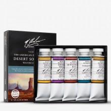 M. Graham : Artists' Watercolor Paint : 15ml : Desert Southwest Set of 5
