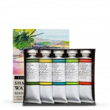 M. Graham : Artists' Watercolour Paint : 15ml : Shades of Summer Set of 5