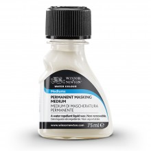 Winsor & Newton : Watercolor Medium : 75Ml : Permanent Masking Medium