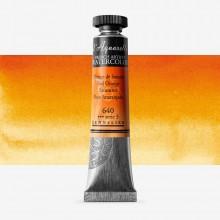 Sennelier : Watercolor Paint : 21ml : Red Orange