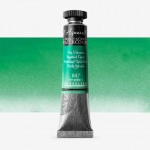Sennelier : Watercolor Paint : 21ml : Emerald Green
