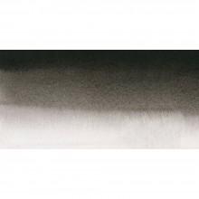 Sennelier : Watercolor Paint : Half Pan : Ivory Black
