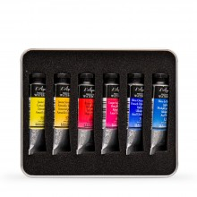 Billy Showell : Sennelier Watercolor Paint : 10ml : Basic Color Set of 6