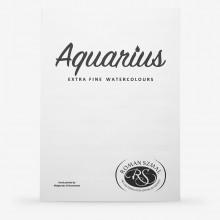 Roman Szmal : Aquarius : Watercolour Paint : Hand Painted Colour Chart