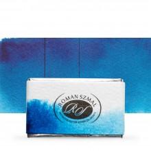 Roman Szmal : Aquarius : Watercolour Paint : Full Pan : Phthalo Blue (Green Shade)